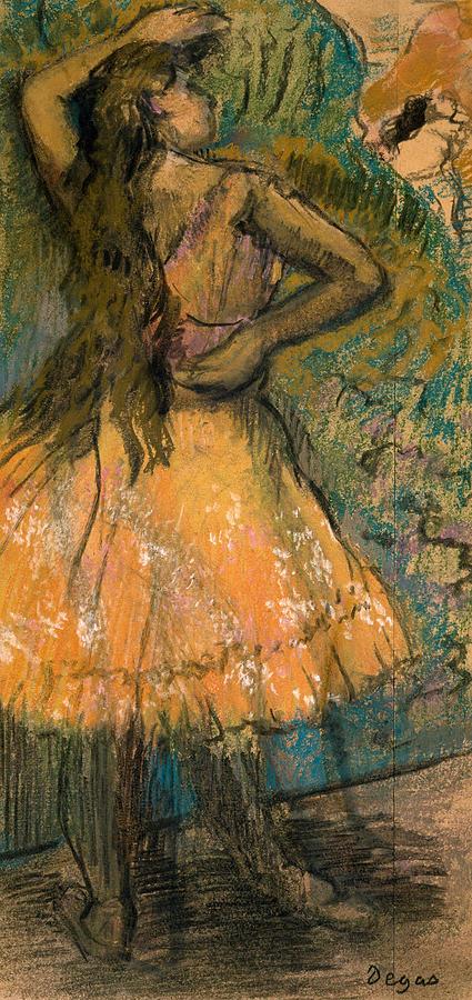 La Danseuse Painting