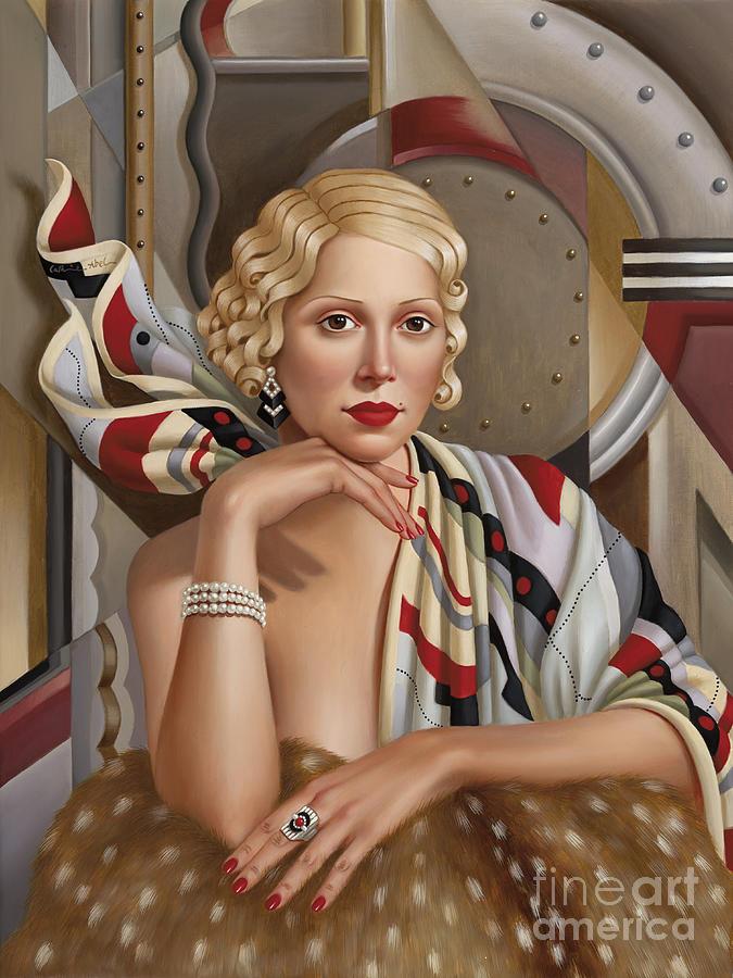 La Femmeen Soiehi  Painting