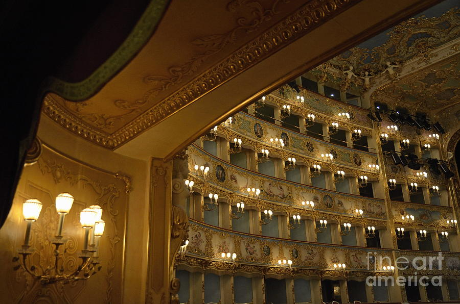 La Fenice Opera Theater Photograph