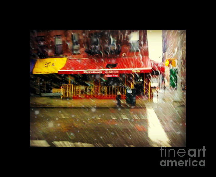 La finestra restaurants of new york mix of snow and for Finestra new york