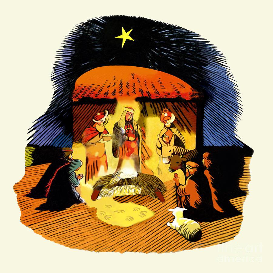 La Natividad Digital Art