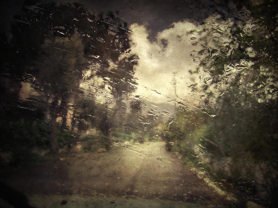 Rain Photograph - La Pluie 4.45 by Taylan Apukovska