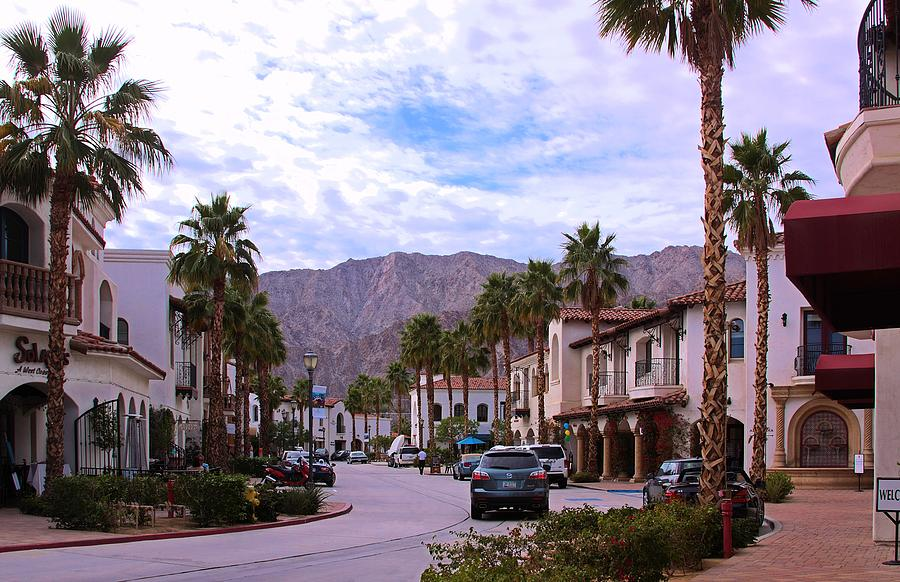 La Quinta Old Town Village Photograph  - La Quinta Old Town Village Fine Art Print