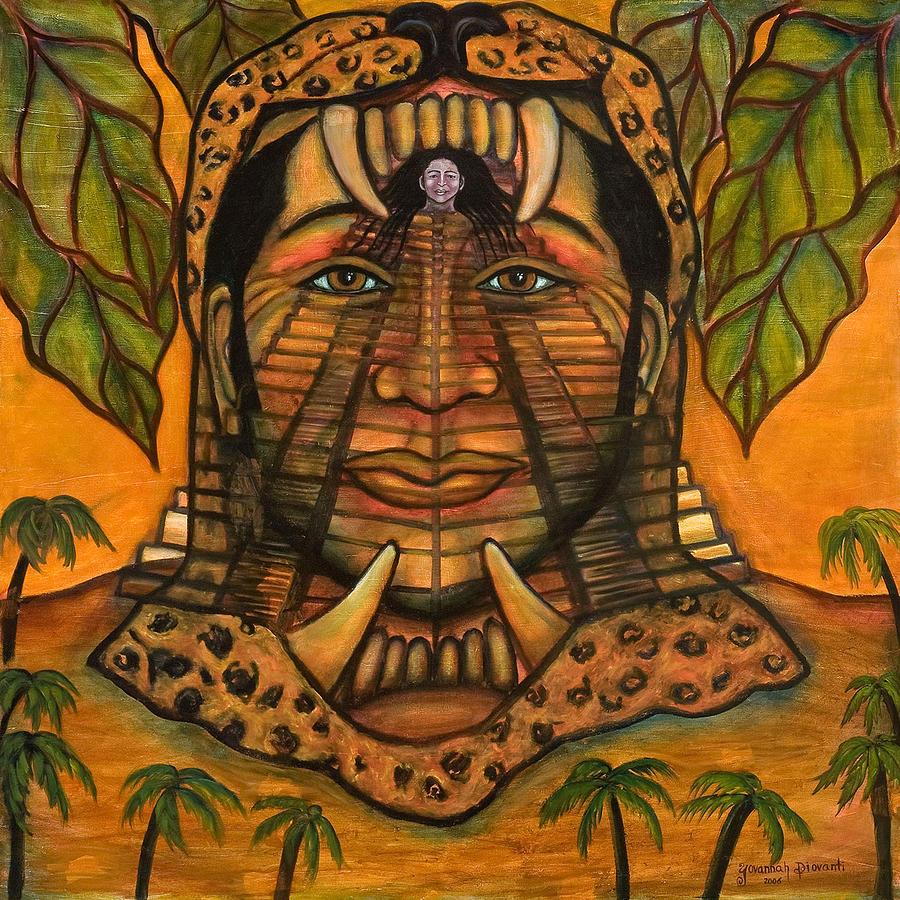 La Reina De Los Jaguares Painting
