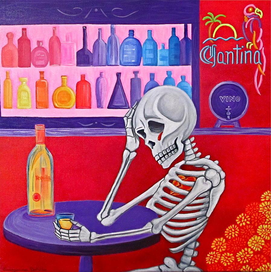 La Vida No Vale Nada Painting
