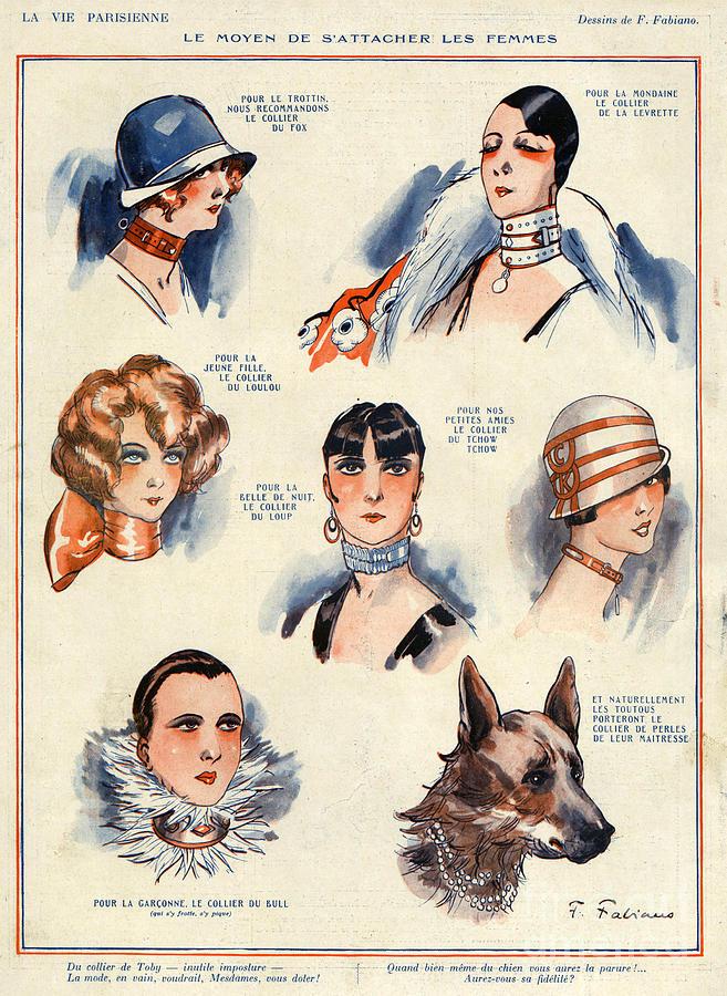 La Vie Parisienne 1924 1850s France F Drawing