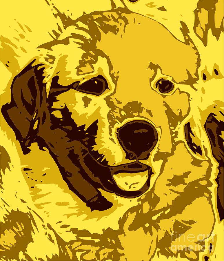 Labrador Digital Art