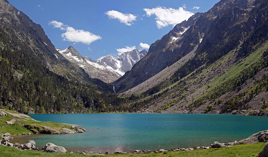 Lac de gaube photograph by rod jones - Lac de gaube ...