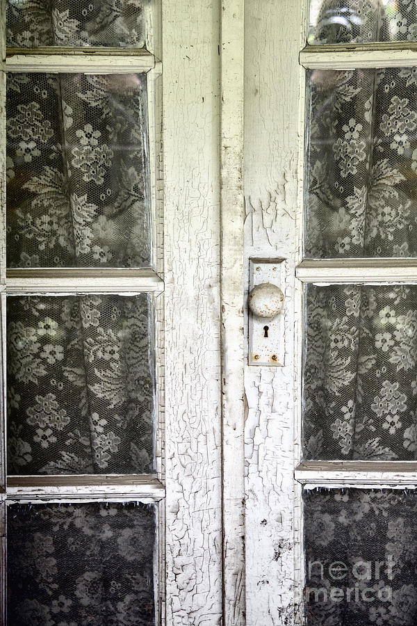 Doors Photograph - Lace Curtains by Margie Hurwich