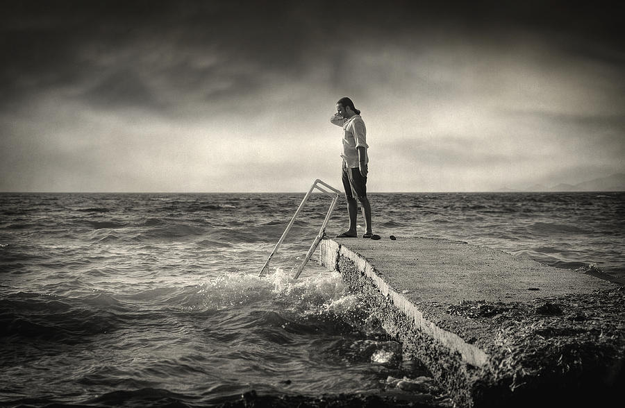 Ocean Photograph - Lack 17.51 by Taylan Apukovska