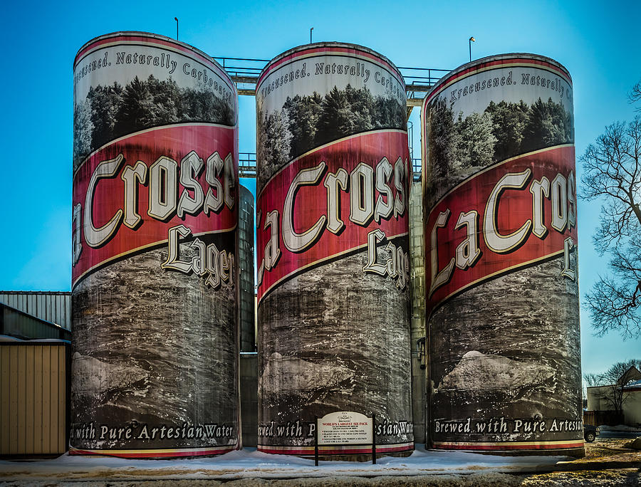 Beer Photograph - Lacrosse Lager by Paul Freidlund
