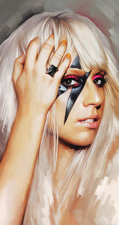 Lady Gaga Artwork 1 Painting