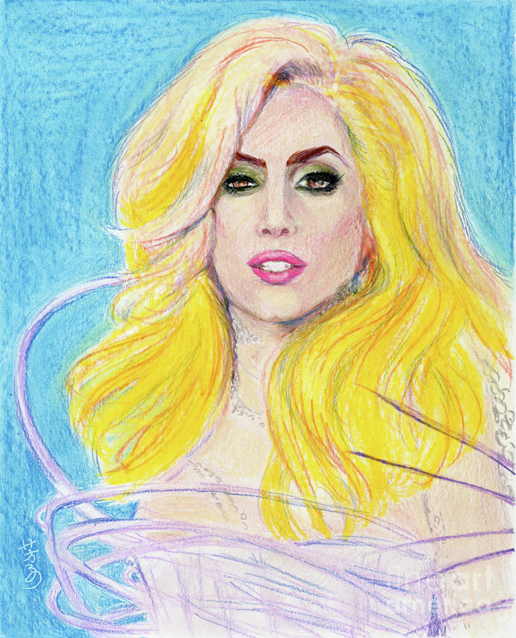 Lady Gaga Drawing