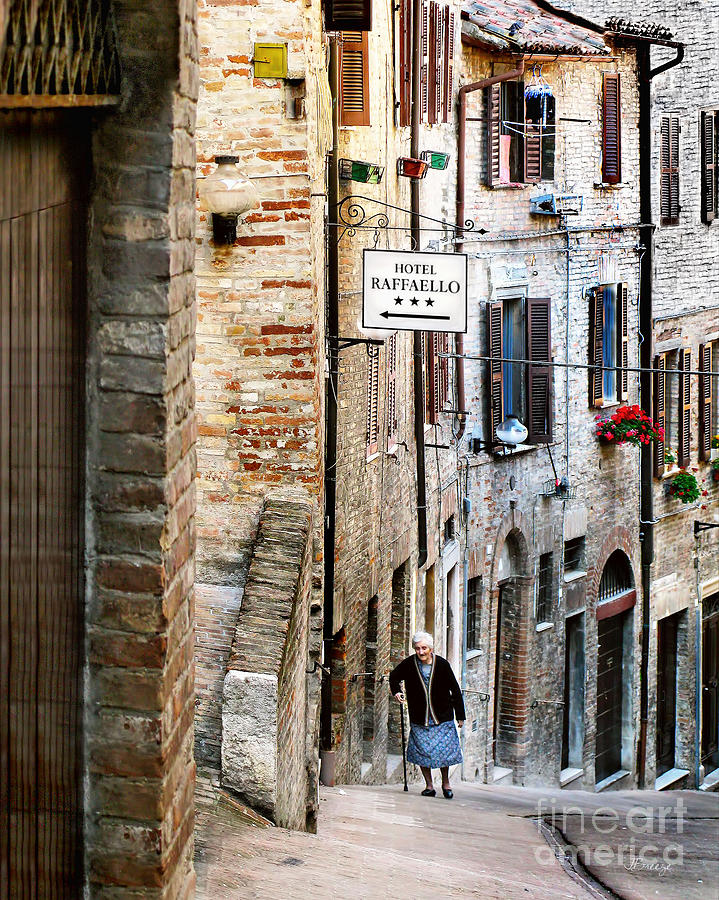 Lady In Urbino Photograph