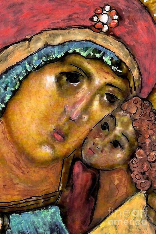 Lady Joy Painting
