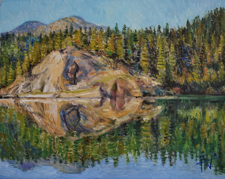 Lady Lake Painting