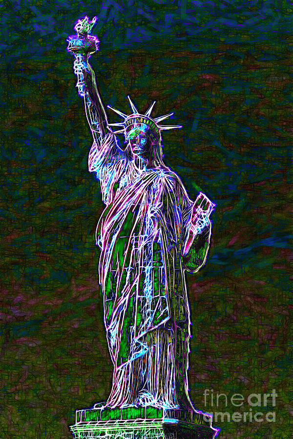 Lady Liberty 20130115 Photograph  - Lady Liberty 20130115 Fine Art Print