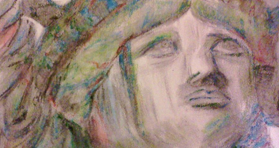 Colored Pencils Drawing - Lady Liberty by Christy Saunders Church