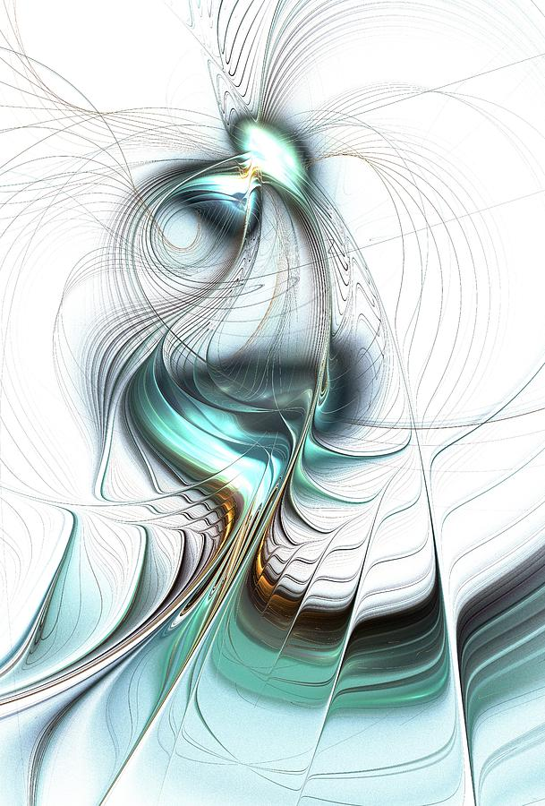 Lady Of The Lake Digital Art