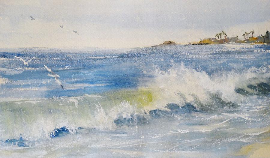 Laguna beach paintings - Plaza la marsa