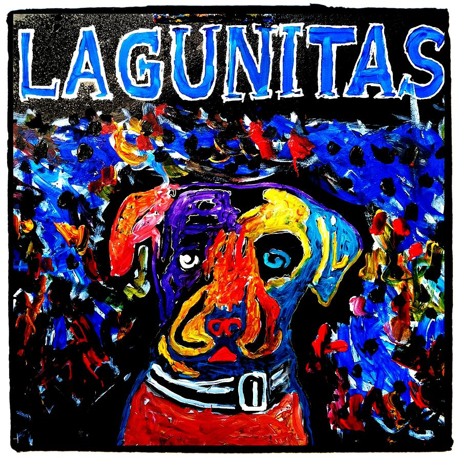 Lagunitas Dog Painting