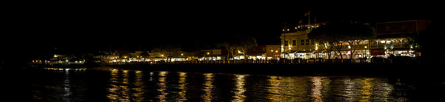 Lahaina Nightlights Photograph