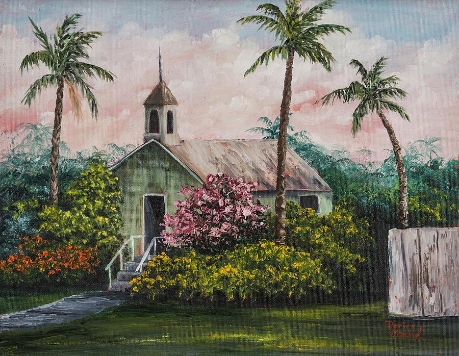 Lahuiokalani Chapel Painting