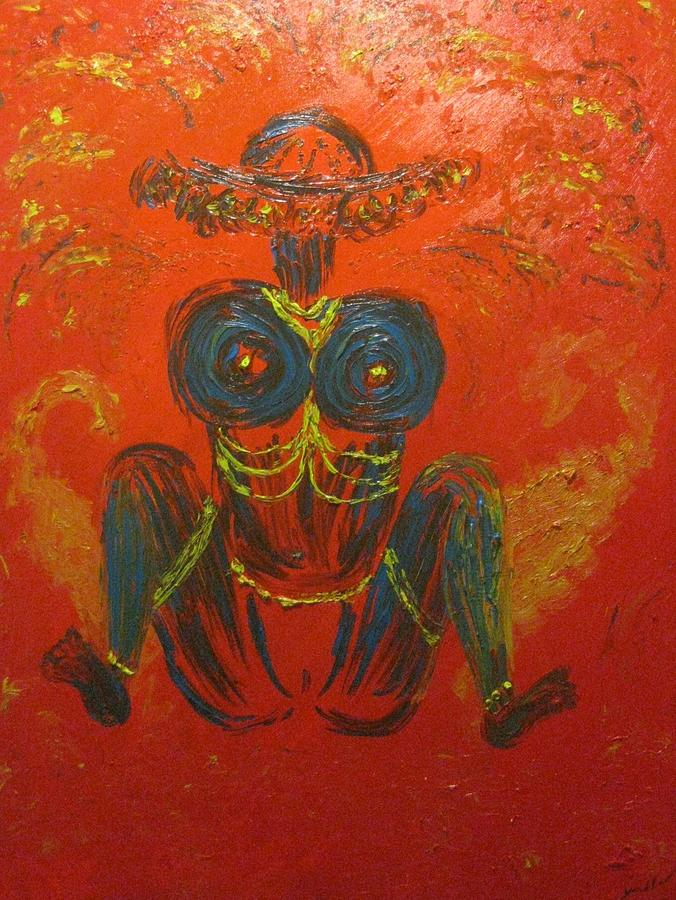 Lajja Gauri Painting