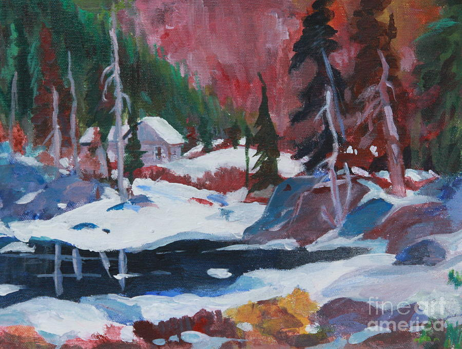 Lake Algonquin Park  Revisited Painting