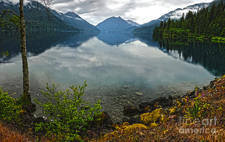 Lake Crescent Photograph - Lake Crescent - Washington - 04 by Gregory Dyer