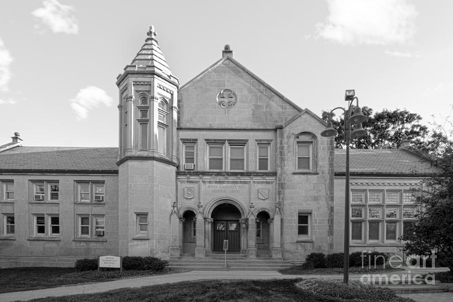 Lake Forest College Reid Hall Photograph