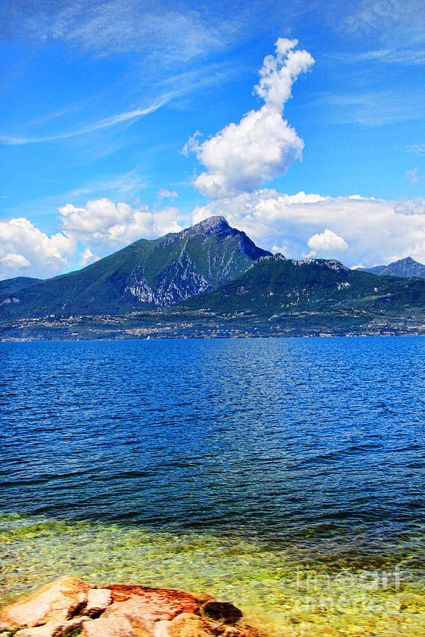 Lake Garda Paradise Photograph