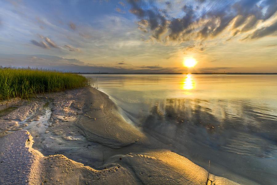 Lake Glow Photograph