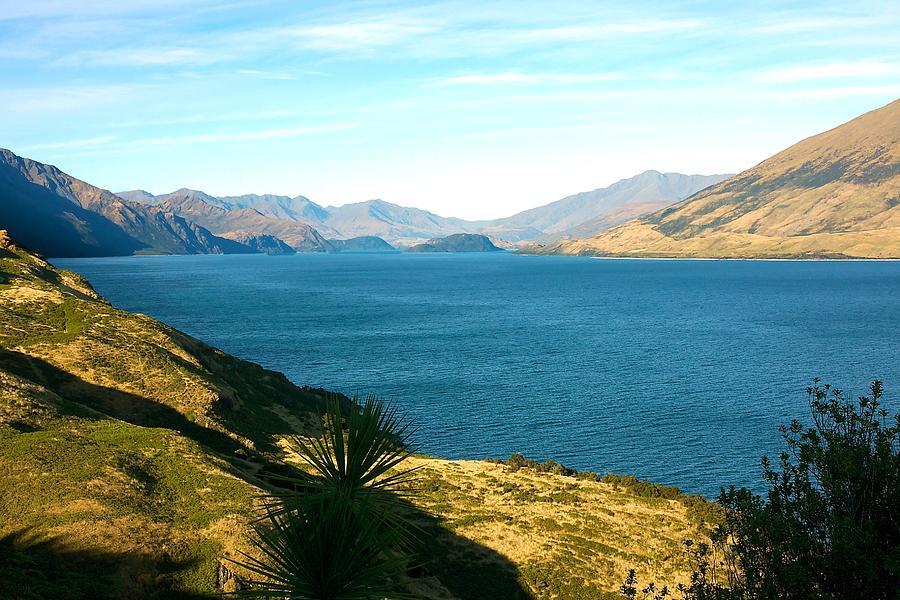 New Zealand Photograph - Lake Hawea by Stuart Litoff