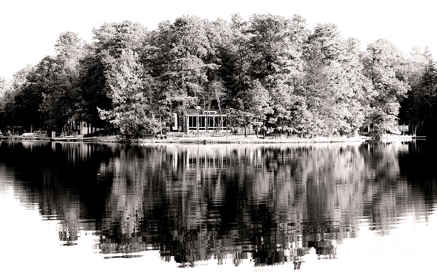 Lake House Photograph