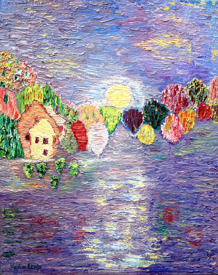 Lake House Painting