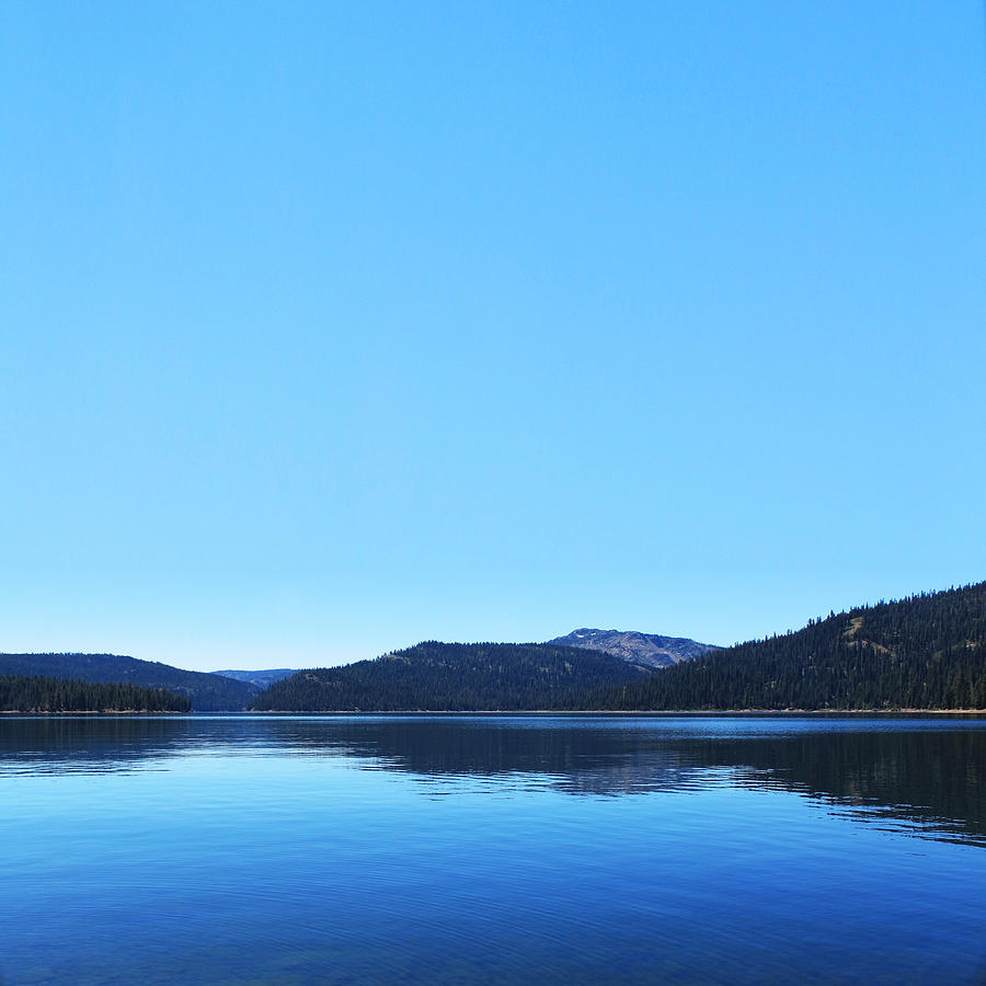 Lake Photograph - Lake In California by Dean Drobot