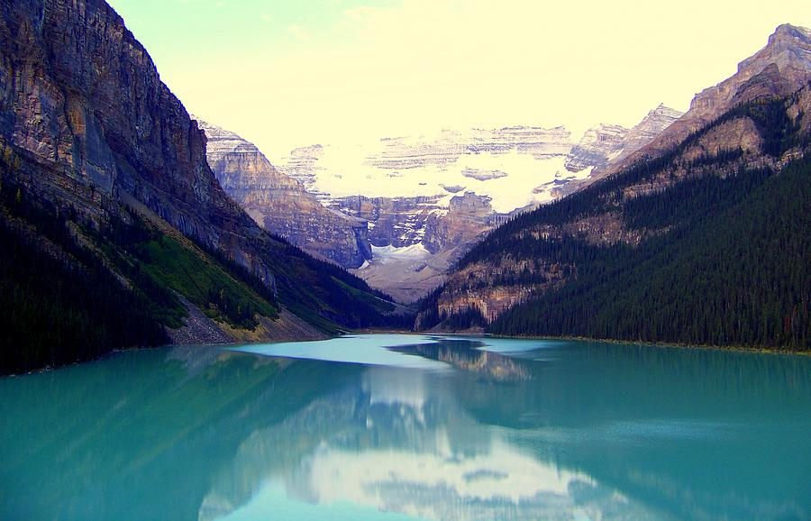 Lake Louise Stillness Photograph  - Lake Louise Stillness Fine Art Print