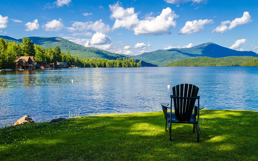 Lake Placid Summer By Joseph Plotz