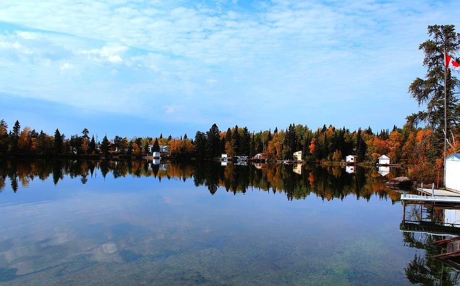 Lake Reflections Photograph