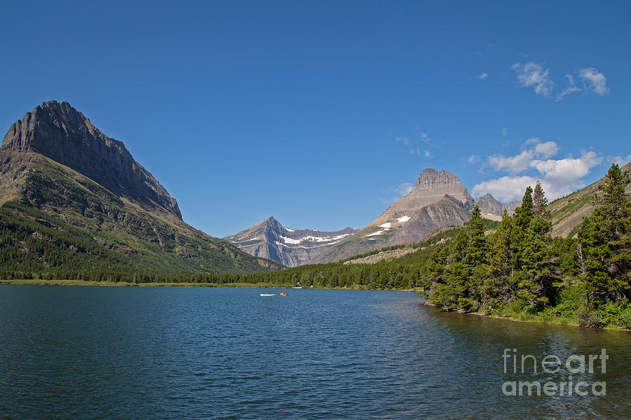 Lake Sherburne In Glacier National Park 2 Photograph