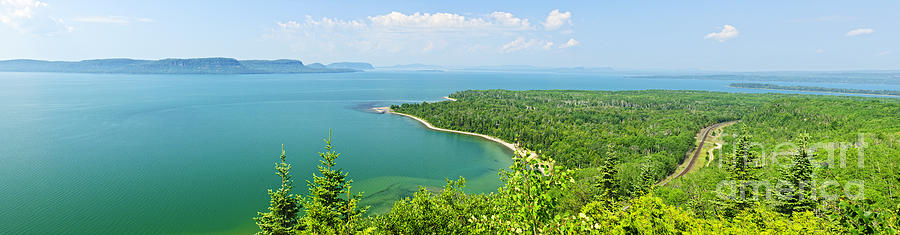 Lake Superior Panorama Photograph  - Lake Superior Panorama Fine Art Print