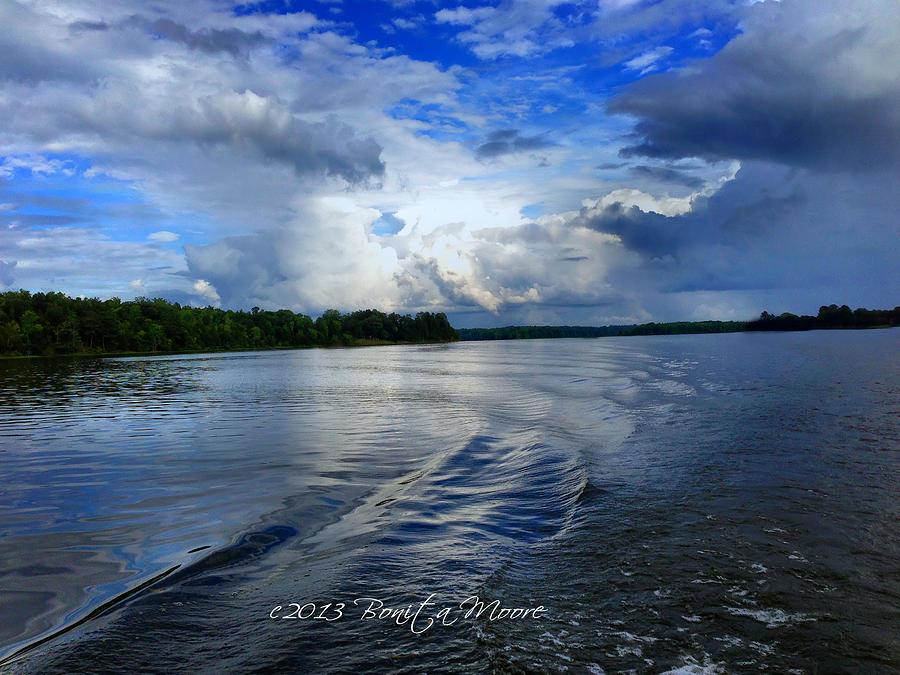 Lake Photograph - Lake Tuscaloosa by Bonita Moore