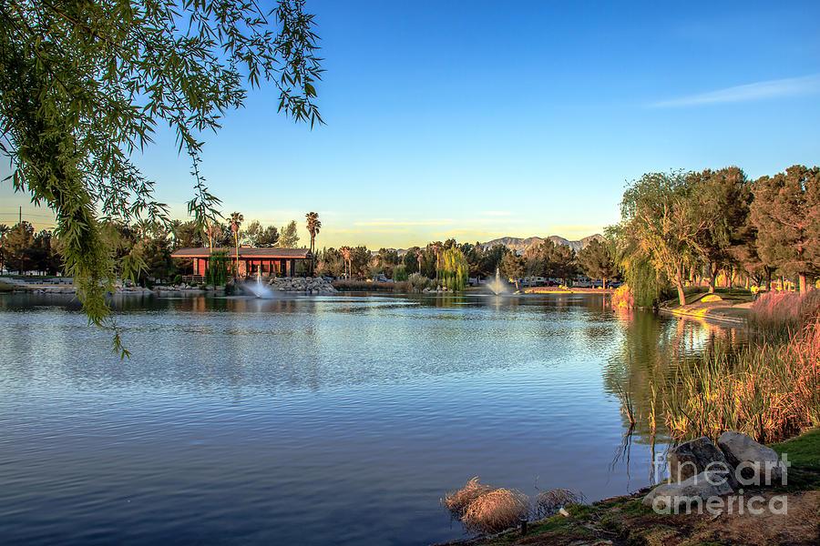 Lakeside Rv Park Photograph By Robert Bales