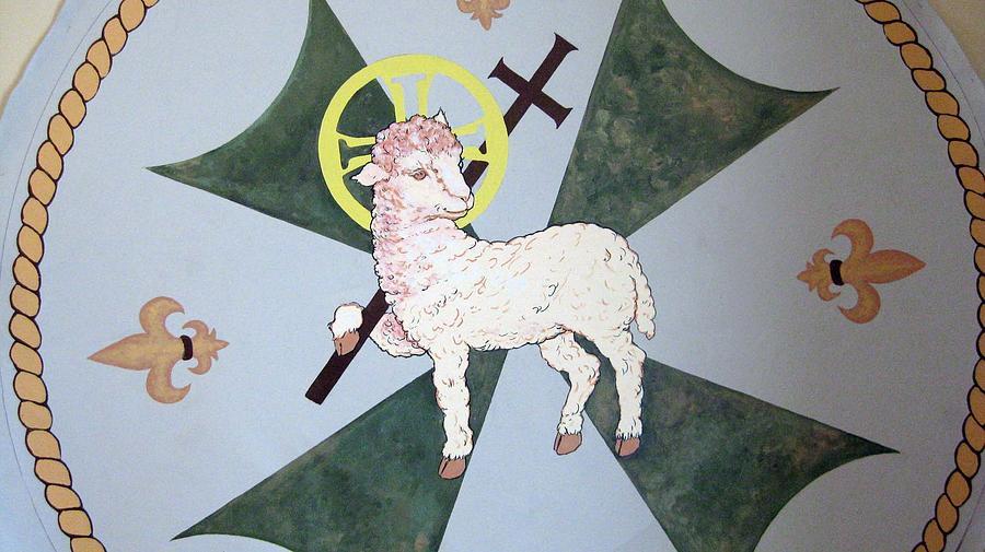 Lamb Of God Painting