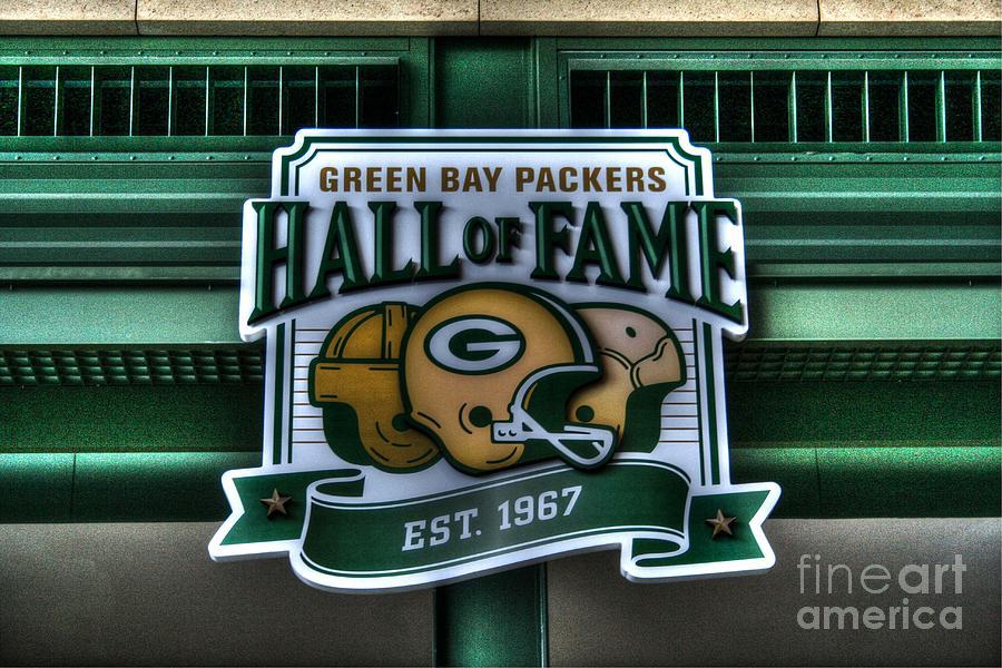 Lambeau Field - Hall Of Fame Photograph