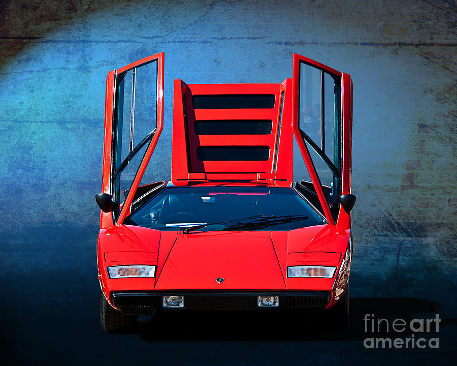 Lamborghini Countach Lp400 Photograph