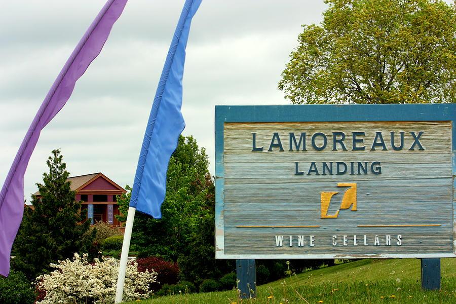 Allison amp Garrett say I DO at Lamoreaux Landing Winery