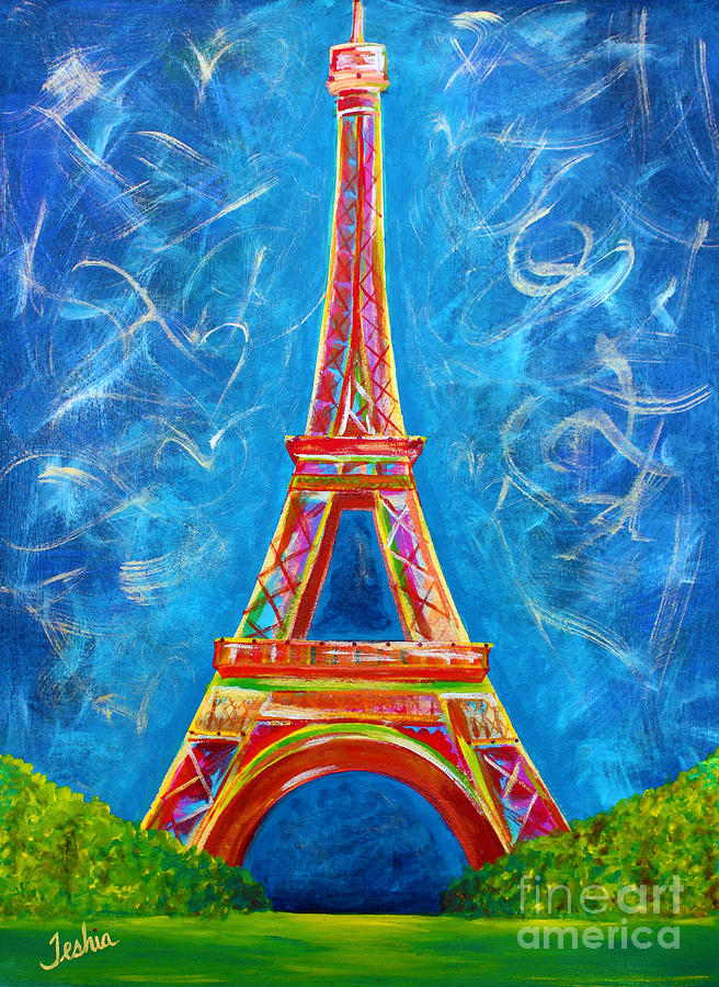 Lamour A Paris Painting
