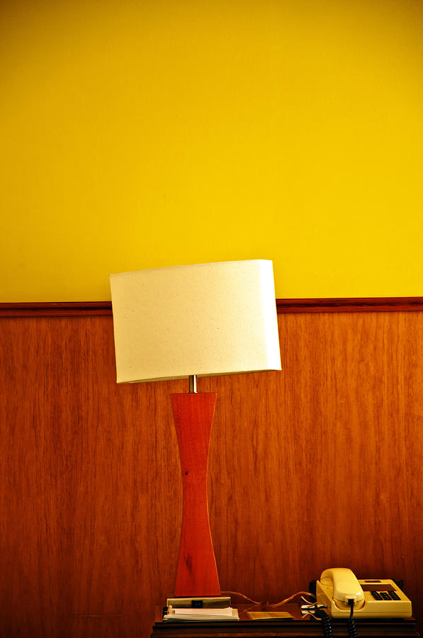 Lamp And Desk Photograph  - Lamp And Desk Fine Art Print